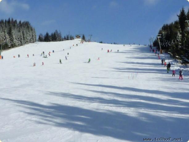 Schifahren auf der Simonhöhe