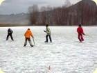 Eishockey am Talhof-See