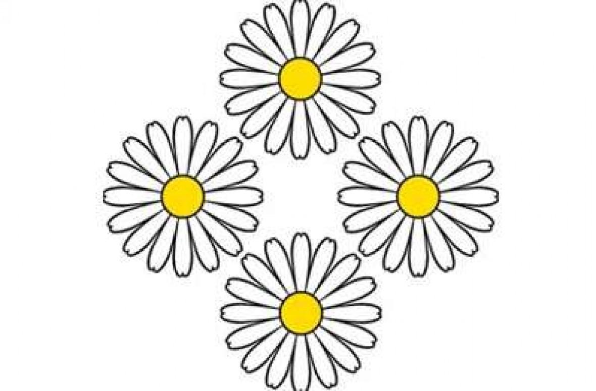 Vier Blumen Auszeichnung