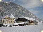 Winter in Kärnten am Talhof.